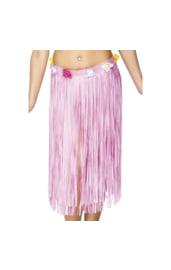 Розовая гавайская юбка