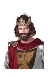 Парик средневекового короля