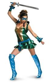 Женский костюм черепашки Леонардо