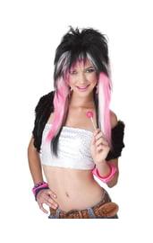 Пёстрый парик Емо
