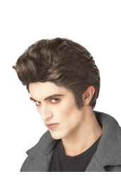 Тёмный вампирский парик