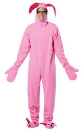 Розовый костюм Рождественского кролика