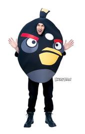 Костюм черной птички ANGRY BIRDS