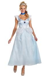 Голубой костюм Золушки
