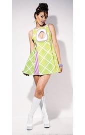 Яблочное мини-платье из Остин Пауэрса