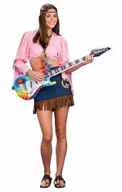 Надувная гитара хиппи