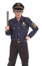 Детский костюм серьезного полицейского