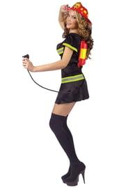 Костюм пожарной с огнетушителем