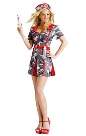 Камуфляжный костюм медсестры