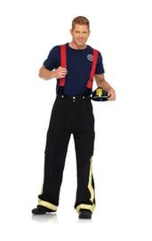 Костюм капитана пожарного