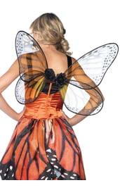 Крылья Бабочка оранжевые