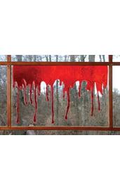 Кровавые отпечатки 3-D стекающая кровь