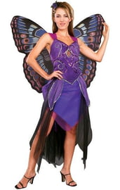 Костюм бабочки фиолетовый