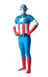 Костюм Капитана Америка вторая кожа