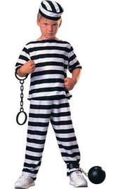Костюм заключенного мальчика