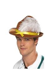 Баварская шляпа с пером