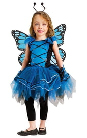 Костюм бабочки-незабудки детский