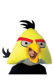 Желтая маска Angry Birds