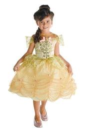Детский костюм золотой принцессы Бэлль
