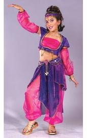 Костюм арабской танцовщицы фиолетовый