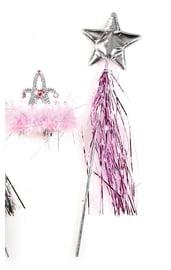 Набор новогодней волшебницы розовый