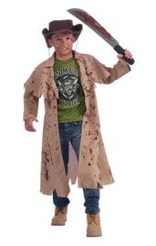 Костюм зомби-охотника детский