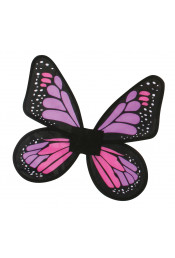 Атласные крылья Бабочка розовые
