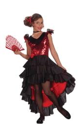 Костюм испанской танцовщицы детский