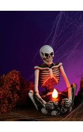 Светильник-подсвечник Скелет