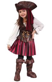 Детский костюм пиратки открытого моря