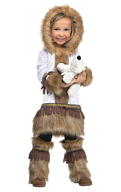 Костюм малышки эскимоски