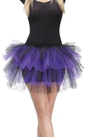 Мерцающая юбочка туту фиолетовая