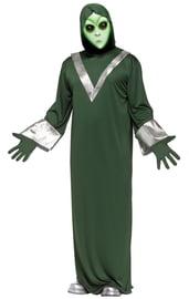 Зеленый костюм пришельца
