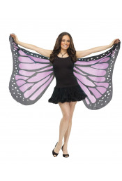 Мягкие крылья бабочки фиолетовые