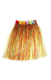 Гавайская юбка с цветами