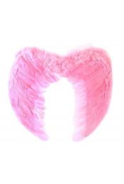 Крылья ангела розовые 55 см