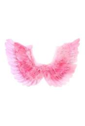 Крылья ангела розовые 35 см