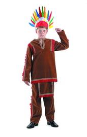 Костюм индейца детский