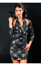 Мини-платье ведьмы