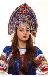 Синий кокошник Ярославна