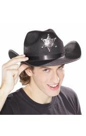 Шляпа шерифа со звездой