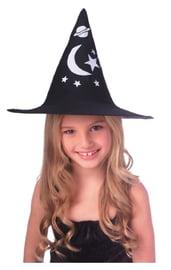 Детская тканевая шляпка ведьмы