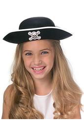 Детская пиратская шляпа-котелок