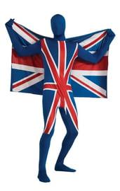 Костюм Великобританский флаг вторая кожа