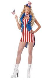 Костюм Мисс Независимость Америки