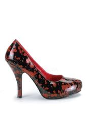 Черные туфли в крови