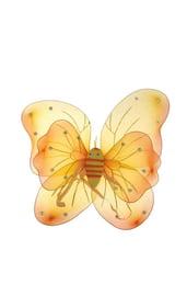 Двойные желтые крылья бабочки
