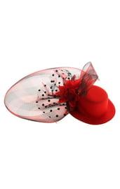 Карнавальный зажим шляпка