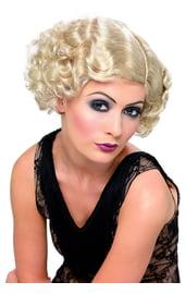 Волнистый парик девушки 20-х годов