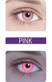 Неоновые линзы Neon Pink